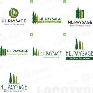 Création de logo  paysagiste
