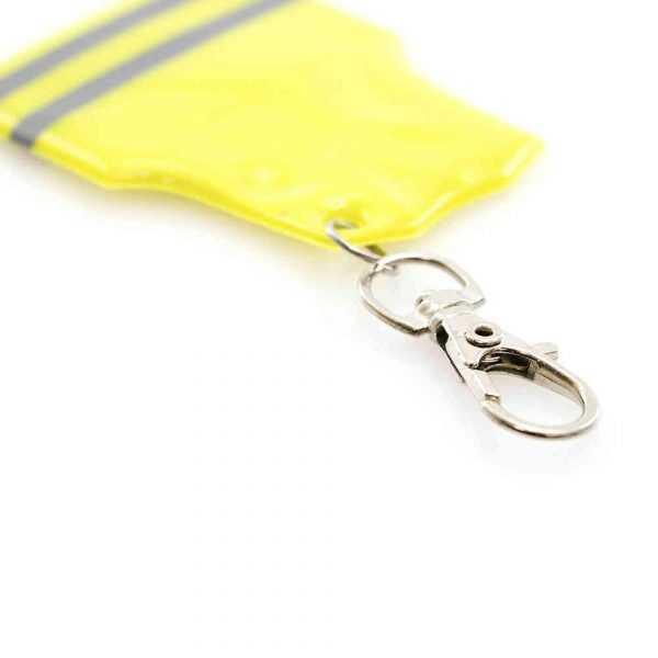 porte clé gilet jaune