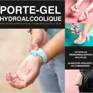 porte gel hydroalcoolique
