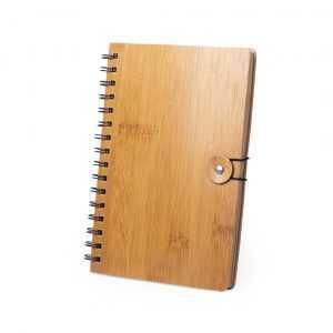 Cahier bois personnalisé