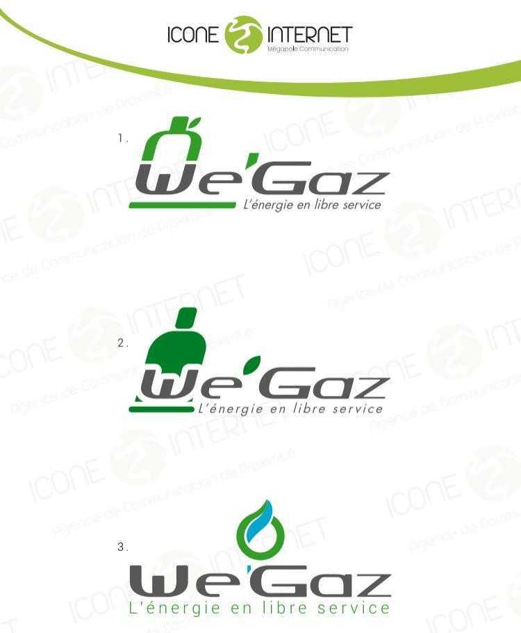 création de logo société gaz