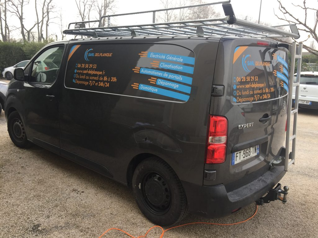 Flocage camion et covering special