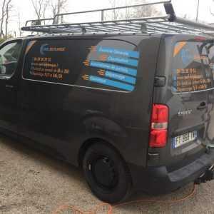Flocage camion électricien