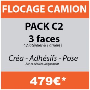 flocage camion personnalise covering