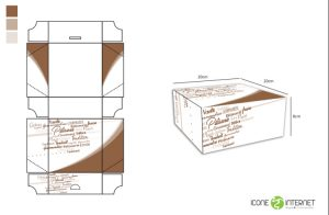 packaging dessert et gateau