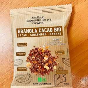 Packaging sachets de granolas