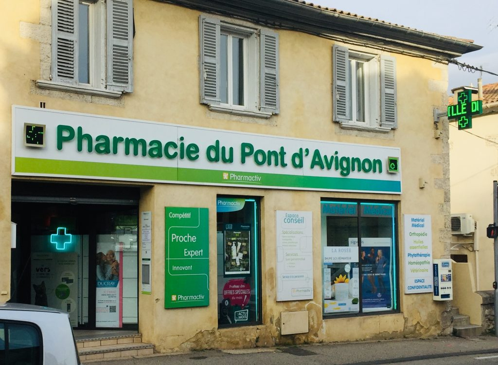 Enseigne pour pharmacie avignon