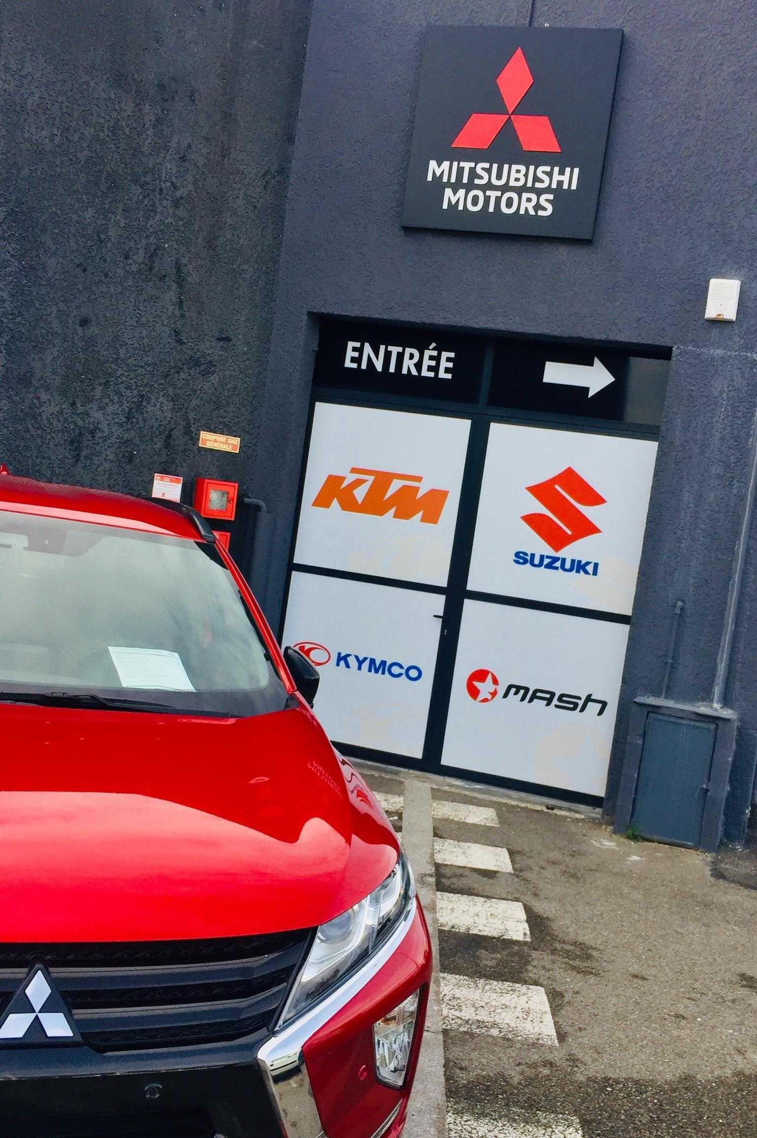 Signalétique garage autoobile