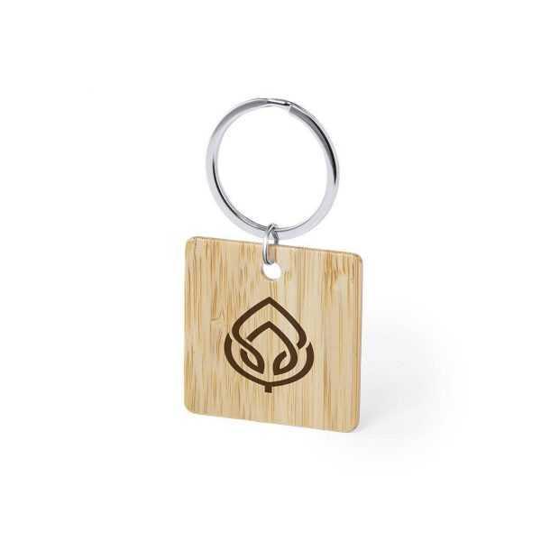 Porte clé bois personnalisé