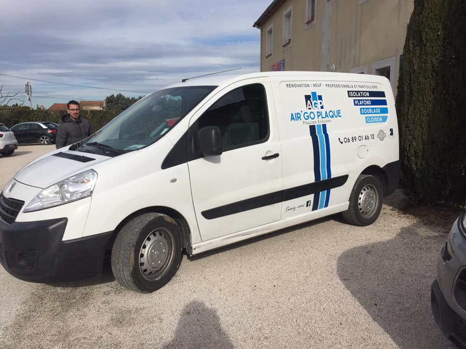 flovage vehicule plaquiste camion
