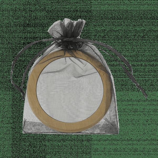 miroir bambou sac trousse personnalisée publicitaire