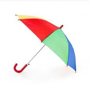parapluie multicolore publicitaire