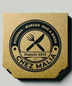 packaging boite à pizza