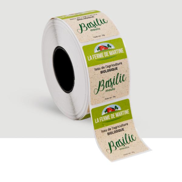 etiquettes ecologiques vertes