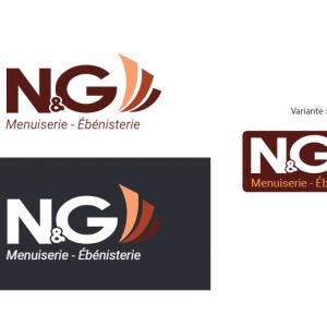 Création de logo menuisier