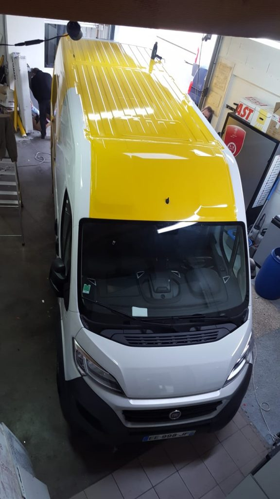 flocage covering camion