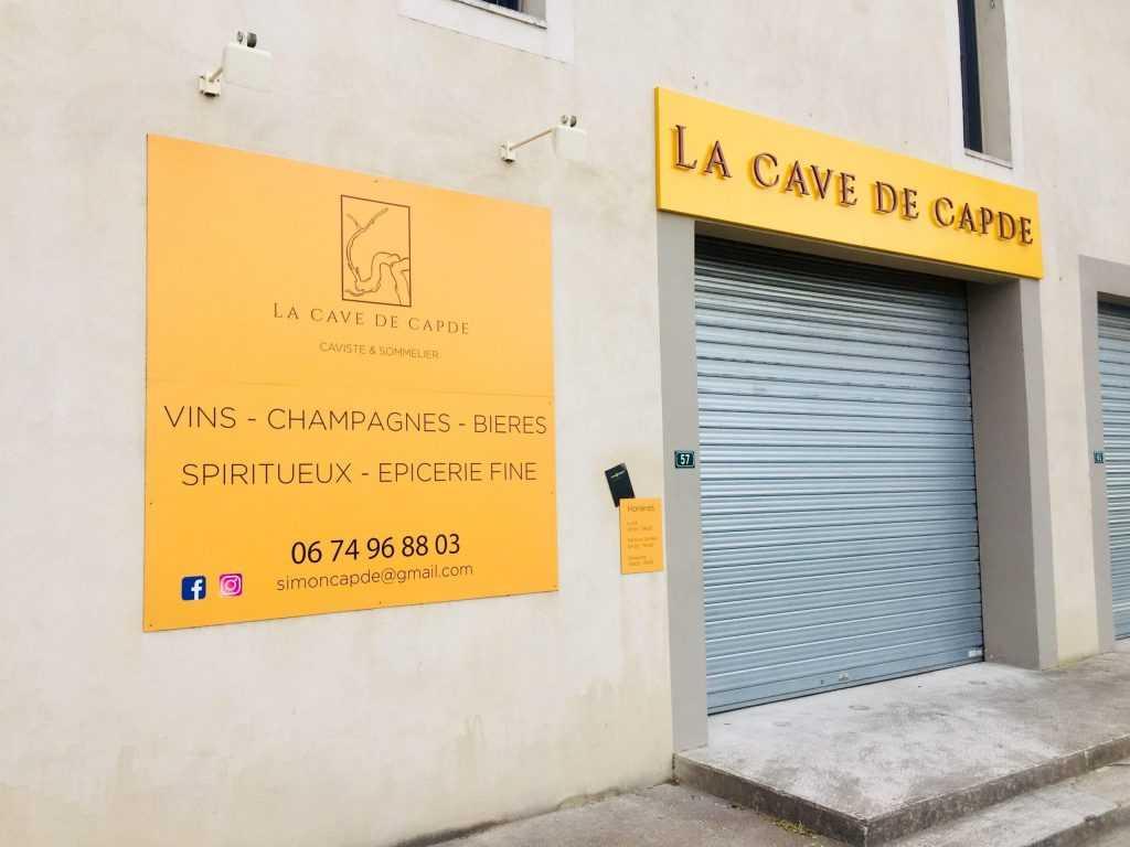 Panneau enseigne Avignon lettres découpées horaires panneau alu
