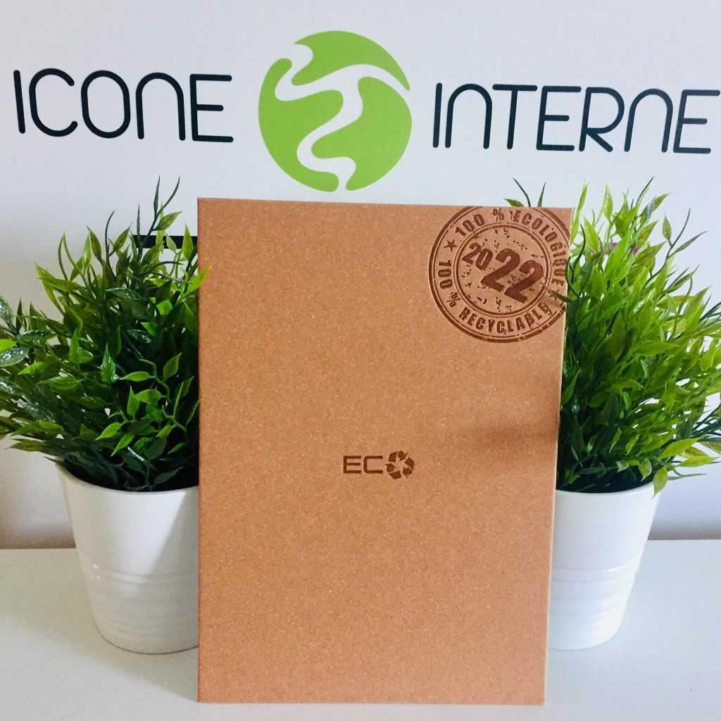 Agenda personnalisé ecologique