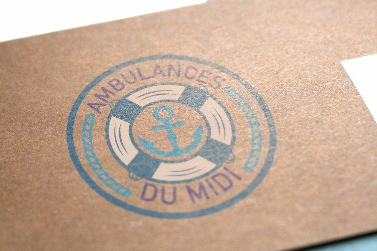 Création de logo ambulances