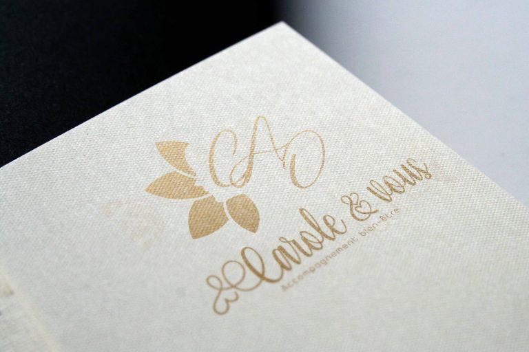 Création de logo coach