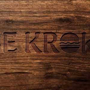 Création de logo snack