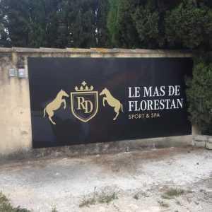 Panneau enseigne centre equestre