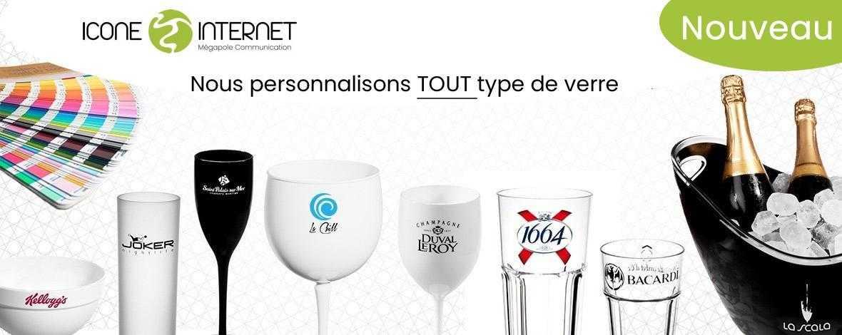 verre a vin personnalise