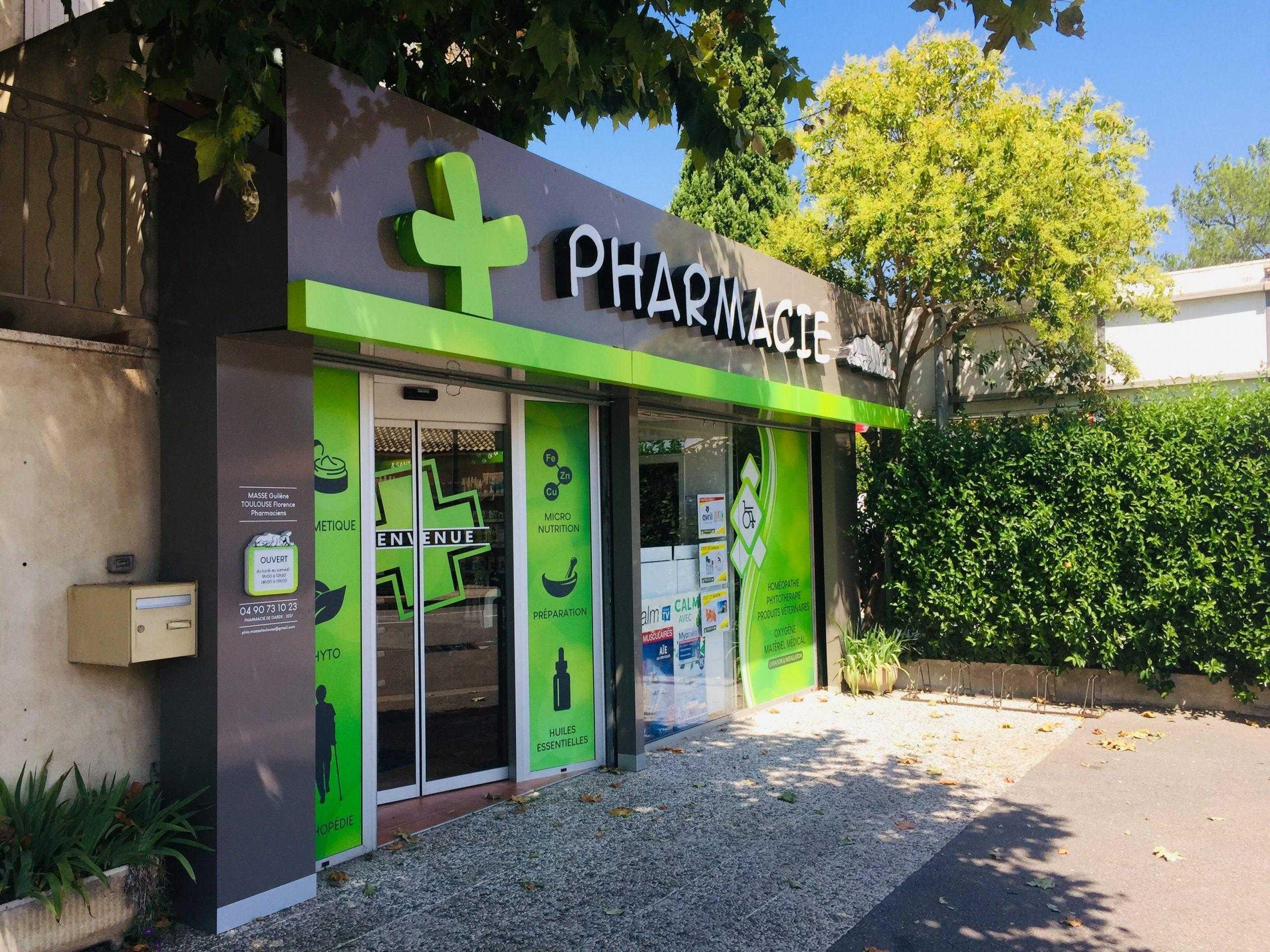 enseigne lumière pharmacie
